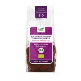 Żurawina kanadyjska, słodzona cukrem trzcinowym 100g